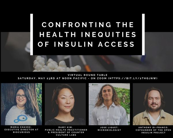 Round table - Confronting the Health Inequities of Insulin Access (or In-access)